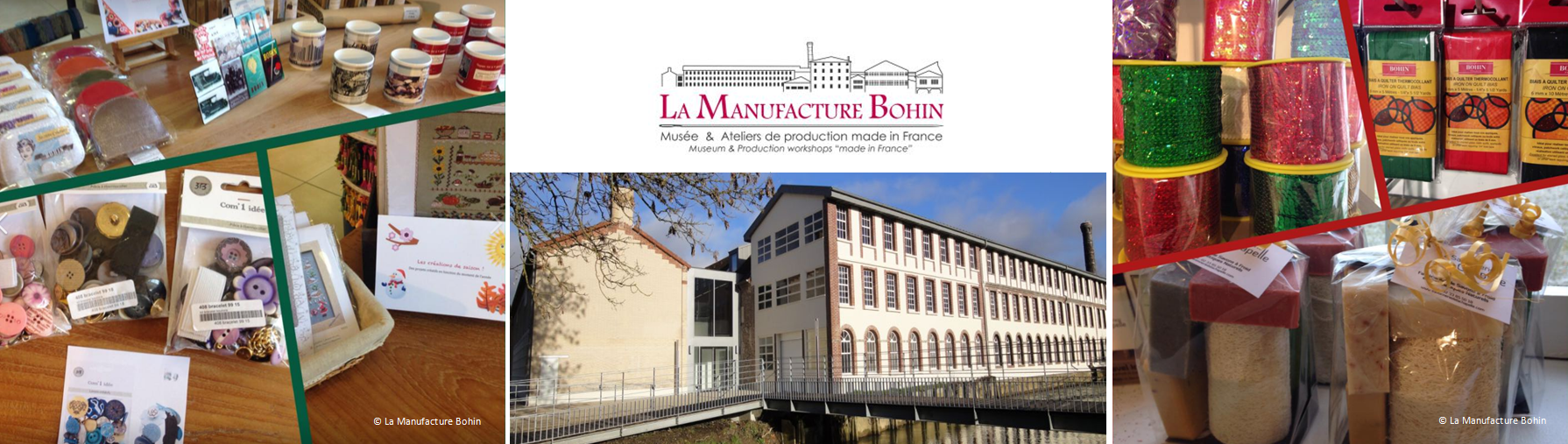 #La Manufacture Bohin - Boutique
